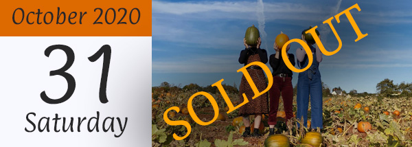 31st October 2020 – Pumpkin Patch